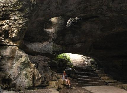 Longhorn cavern exterior
