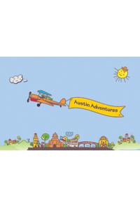 Postcard - Airplane