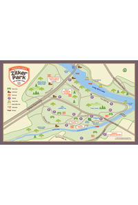 Zilker Park Map
